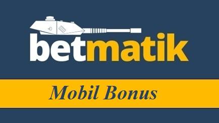 Betmatik Mobil Bonus